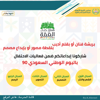 شاركونا الاحتفال باليوم الوطني السعودي في عامه التسعين (2)_003